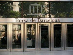 Façana de la Borsa de Barcelona
